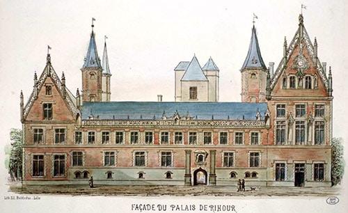 facade de palais de rihour