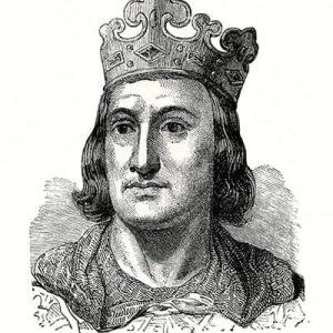 Roi Philippe II ou Philippe-Auguste