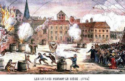 les lillois pendant le siège 1792